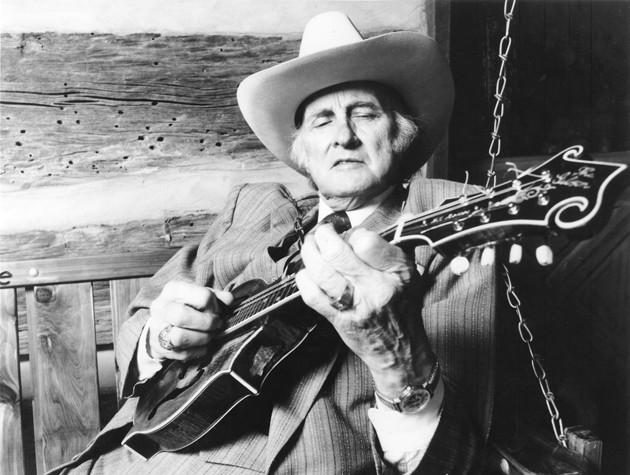 پدر موسیقی بلوگرس Bill Monroe