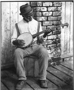 banjo.ir-african banjo player